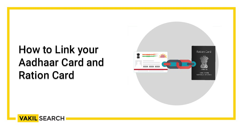 How to Link your Aadhaar Card and Ration Card