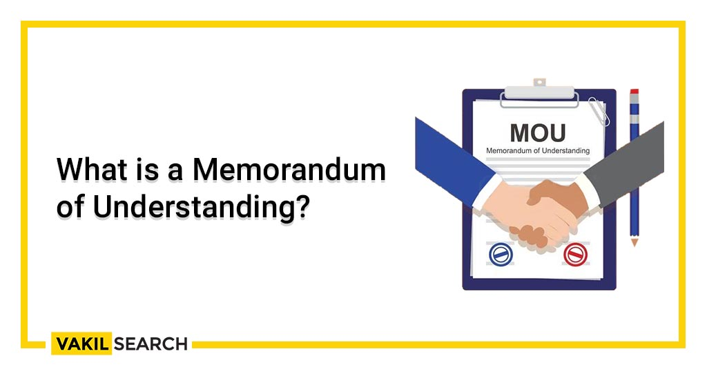 What is a Memorandum of Understanding_