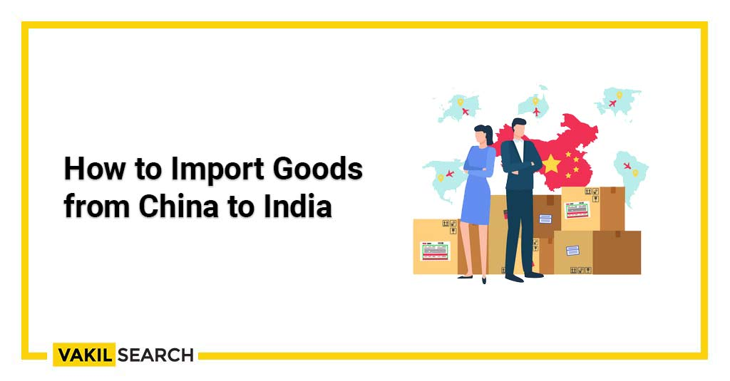 Goods from China to India