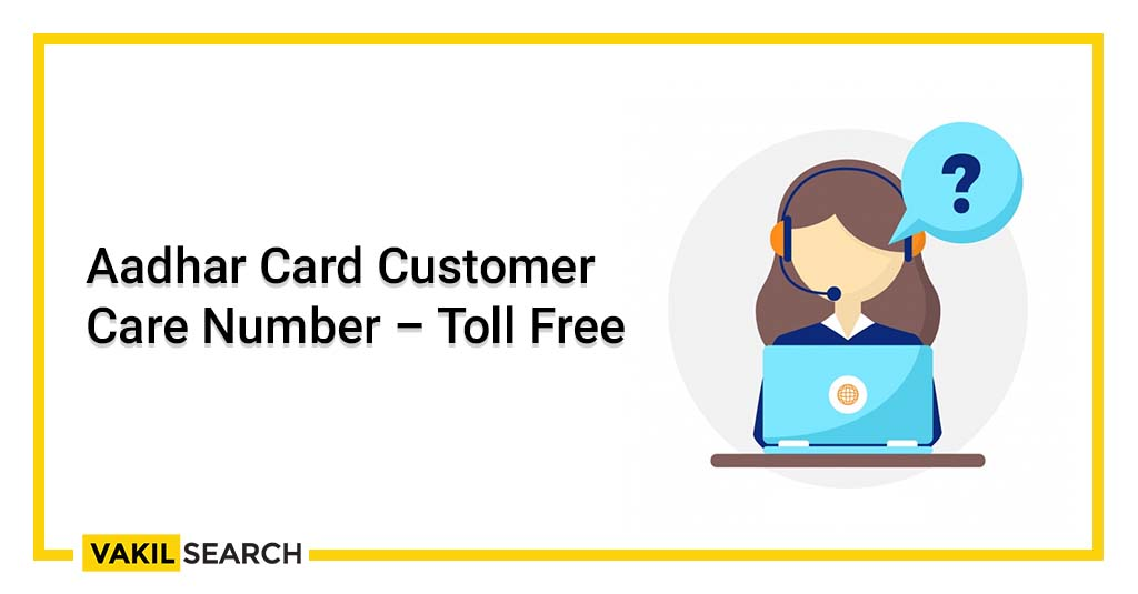 Aadhaar card customer care