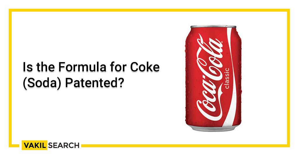 Coke Soda Patented