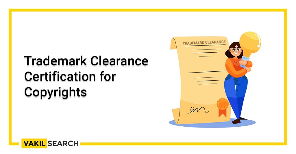 Trademark Clearance Certification