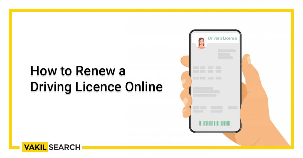 Renew a Driving License