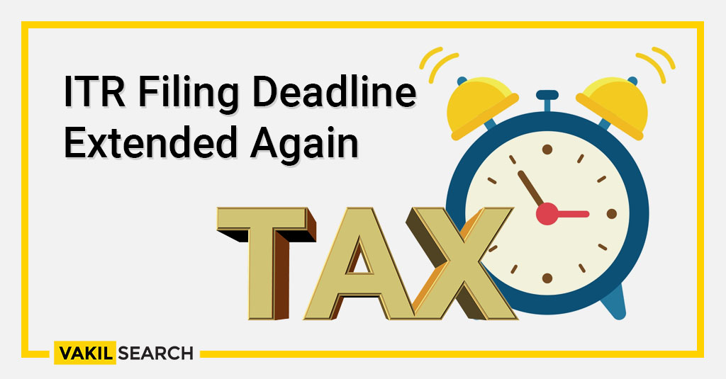 ITR Filing deadline