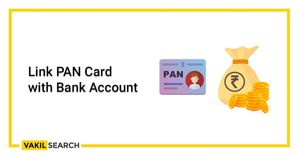 Link PAN with bank account