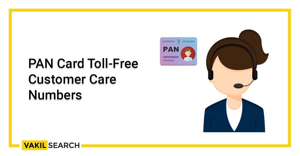 PAN card toll-free customer care number