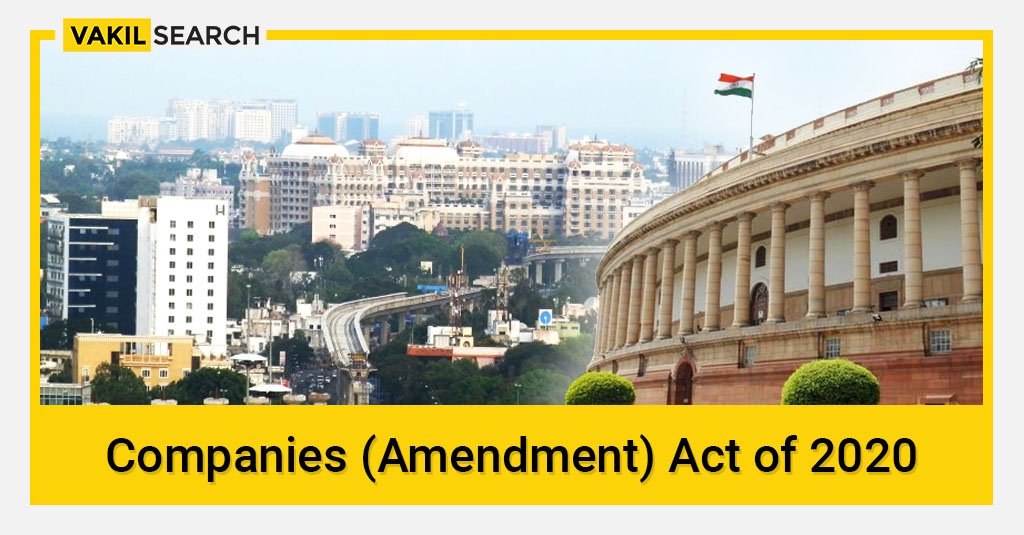 Companies Amendment Act of 2020