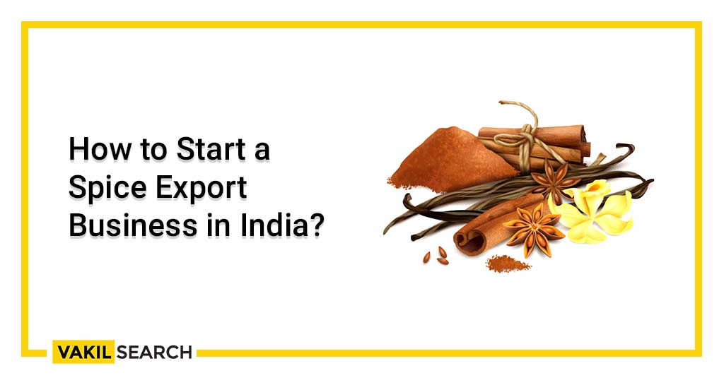 Spice Export Business