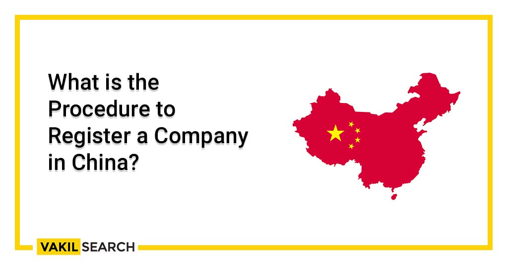 Register a company in China